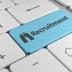 Recruitment-key-on-keyboard-