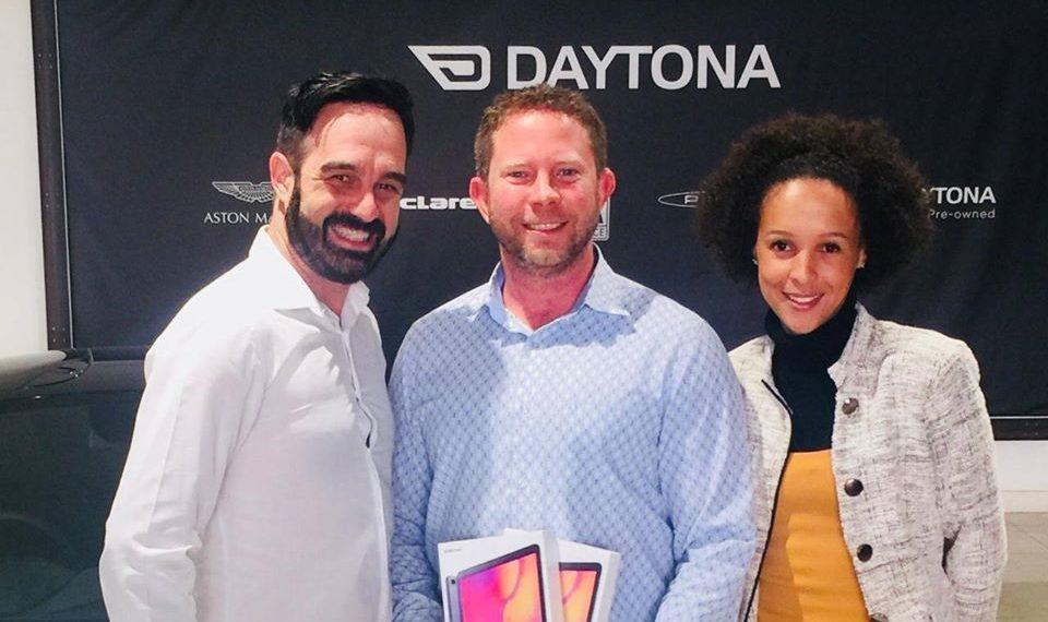 Daytona Prize giving